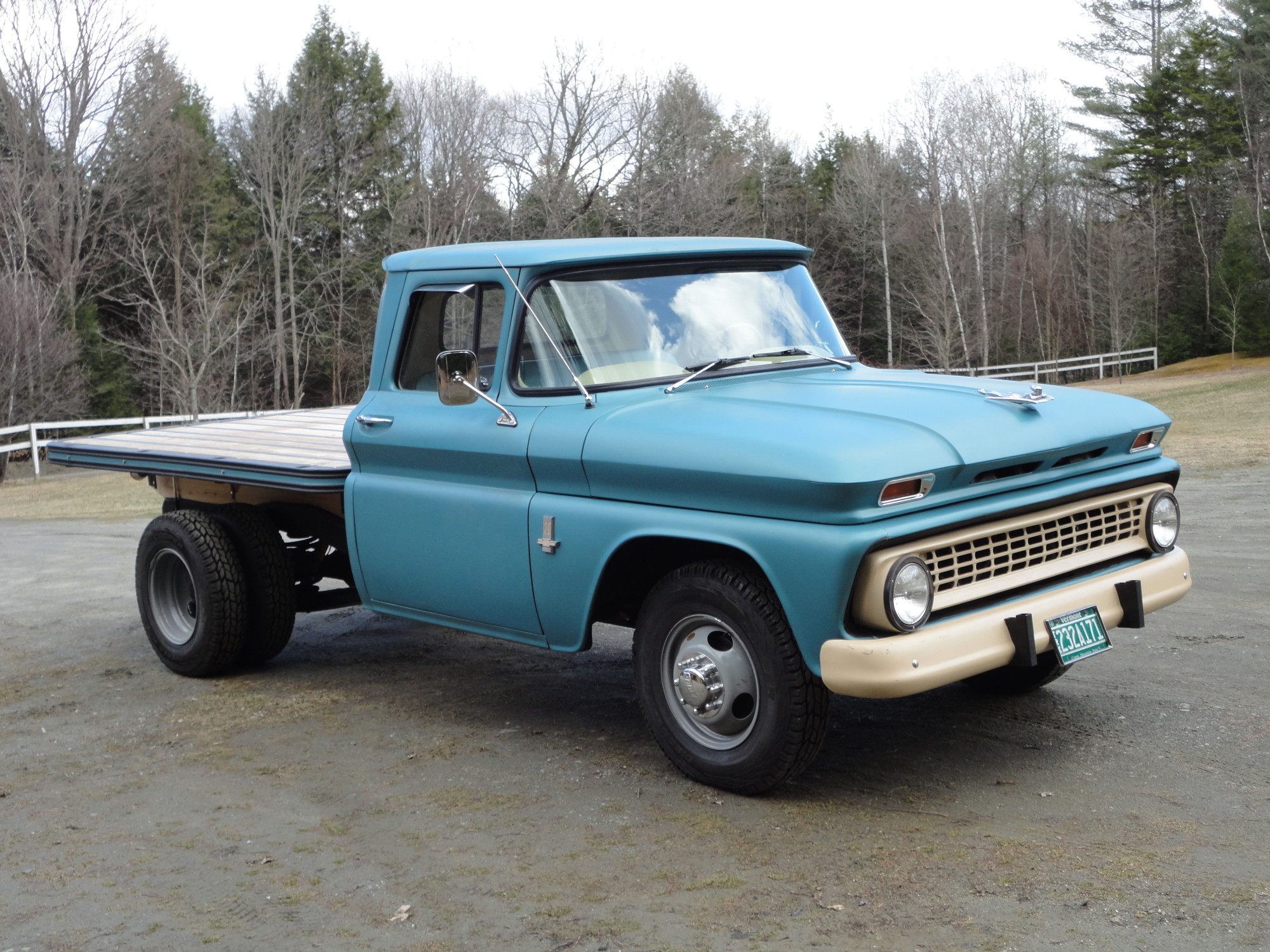 1963 Chevy C 20 Flatbed Pickup Customer Showcase Pony Parts Plus